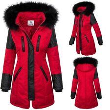 Ladies Winter Jacket Parka Coat Women's Jacket Outdoor Art fur Collar Hood D-355