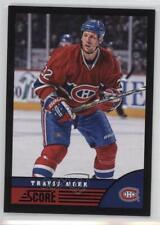 2013-14 Score Black #265 Travis Moen Montreal Canadiens Hockey Card