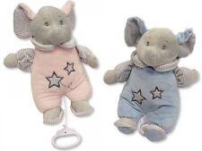 Baby Musik Elefant 27 cm Spieluhr 2 Farben Kuscheltier Plüschtier