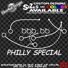 Philly Special Philadelphia Eagles Custom Vinyl Decal Sticker Super Bowl LII