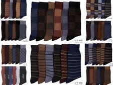 6 Pairs Designer Men's Socks | Cotton Rich Men's Socks UK Size 6 to 11