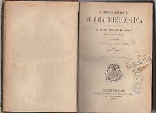 sancti thomae aquinatis- summa theologica - pars 2° - 2°-tomus tertius