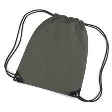 Cordon de serrage vert olive / fourre-tout / sac à dos / PE / Gym / Natation / Sac D'école