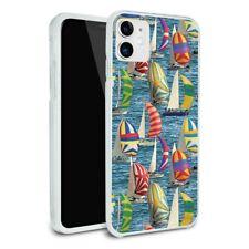 Sailboat Sailing Pattern Apple iPhone 8, 8 Plus, X, 11 Case