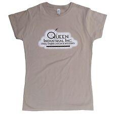 ARROW Inspired Ladies T-shirt > Queen Industrial > Distressed Design > S - 2xl