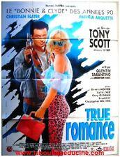 TRUE ROMANCE Affiche Cinéma / Movie Poster TONY SCOTT 160x120