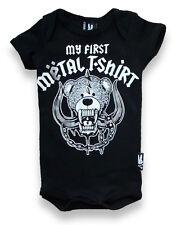 Six Bunnies my first metal vest alternative tattoo goth rock punk metal baby