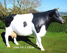 Life Size Cow Model Large Mannequin L161cm X  H128cm 3 colours