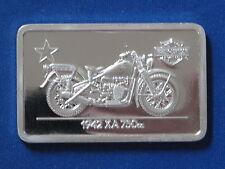 1942 XA 750cc Harley Davidson Silver Art Bar B5752