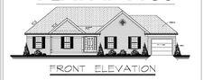 1717sf Ranch House Plan w/Garage on Basement