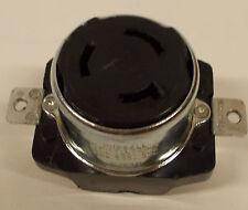 Hubbell Locking Recep,3p,4w,50a,250v Dc/600v Ac 5DLR9 5DLR9
