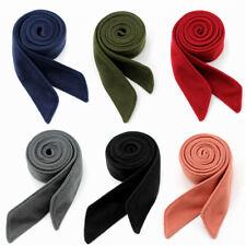 1pc Woolen Belt Women Trench Coat Overcoat Jacket Sash Tie 195cm*4.5cm