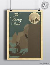 La Princesa Novia-acantilados de locura Minimalista Movie Poster mínima Ltd editar