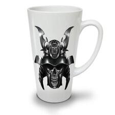 Fighter Asia Skull Fashion NEW White Tea Coffee Latte Mug 12 17 oz | Wellcoda
