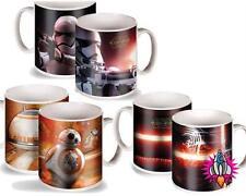 STAR WARS THE FORCE AWAKENS COFFEE MUG TEA CUP STORMTROOPER BB8 KYLO REN