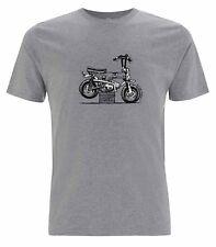 Oily Rag Clothing Monkey Bike Motorcycle T-Shirt | Grey | All Sizes
