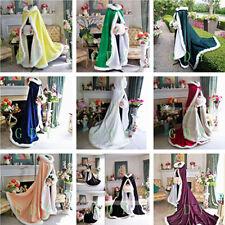 Vintage Bridal Cape Winter Faux Fur Train Wedding Cloaks Women Shawls Bolero