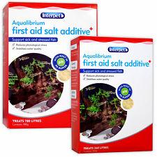 Interpet Aqualibrium Tonic sel 260 g 780 g Aquarium Fish Tank immunitaire Booster