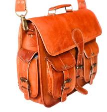 Men's Brown Best Vintage Leather Messenger Laptop Bag Shoulder Leather Briefcase