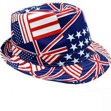 USA UK CAMOUFLAGE Trendy Designer Fedora Trilby  Al Capone Hut  Mafiahut Gangs