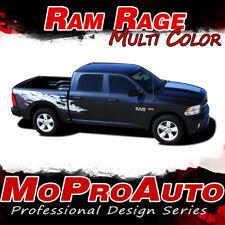 2016 Dodge Ram RAGE Multi-Color Truck Bed 3M Vinyl Graphics Decals Stripes M25