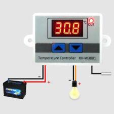 Mini LCD 12/24/220V Digital Temperature Controller Measurement Thermostat Switch