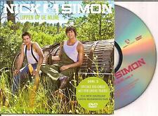 NICK & SIMON - lippen op de mijne DVD CD SINGLE 4TR 2009 HOLLAND MEGARARE!!