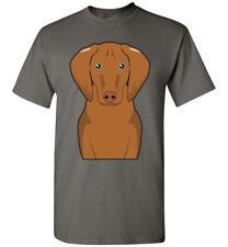 Vizsla Dog Cartoon T-Shirt Tee - Men Women Ladies Youth Kids Tank Long Sleeve