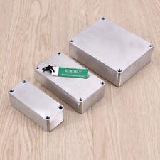 1590 Style Aluminium Metal Stomp Box Case Diecast Enclosure Guitar Effect Pedal