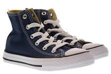 Converse scarpe bambina/o sneakers alte 3J233C YTHS C/T ALLSTAR HI BLU P18