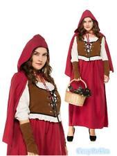 Plus Size Little Red Riding Hood Oktoberfest Halloween Fairy Tales Costume