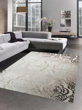 Alfombra modernas alfombra de la sala adorno barocco marrón beige