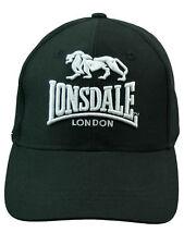Lonsdale Mütze / Cap / Baseballcap / Schirmmütze 3D Schwarz  5206