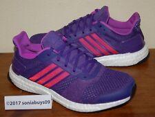 01bd8dd3f236b adidas Ultra Boost Core Black Shock Purple Limited Women Running ...