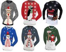 Hombre 3dchristmas Navidad sueter beerski guiño snowdude Rudolph Santa Pingüino
