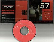 BRUCE SPRINGSTEEN 57 Channels 1992 USA PROMO DJ CD single CSK4599 Printed Lyrics