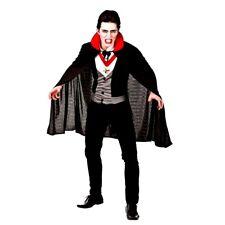 Adult Classic BLOODTHIRSTY VAMPIRE Halloween Dracula Fancy Dress Costume Mens