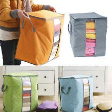 2017 GRAND vêtements ÉDREDON lit zippé oreillers non tissé tissu sac rangement