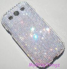 12ss Crystal Diamond Bling Back Case for Samsung Galaxy S3 w/ Swarovski Elements