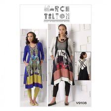 Gratis Reino Unido Envío-Vogue señoras patrón de costura 9108 Tops, Patchwork vestidos...