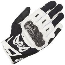 Alpinestars Motorcycle SMX-2 Air Carbon V2 Leather Gloves - Black / White