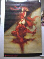 Kent Williams: Daredevil and Elektra póster (Estados Unidos)