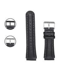 StrapsCo Genuine Leather Watch Band Strap Compatible with Suunto X-Lander