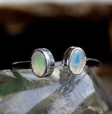 Neu Design Silberring 53 55 56 58 59 63 Edel Schlicht Opal Bunt Elegant Modern