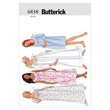 Butterick Ladies Easy Sewing Pattern 6838 Nightgowns Sleepwear (Butterick-683...