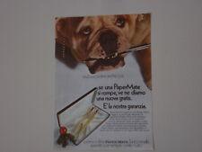 advertising Pubblicità 1969 PENNA A SFERA PAPER MATE