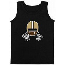 "Ricky Williams New Orleans Saints ""Helmet"" Throwback  jersey shirt TANK TOP"