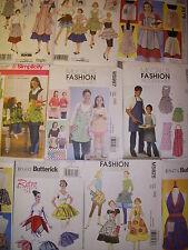 Patterns Men's Women's Boys' Girls' Dolls' Vintage/ Modern/Classic Style APRONS