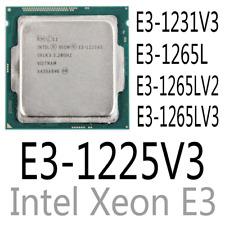 intel E3-1231 V3 E3-1265L E3-1265L V2 E3-1265L V3 E3-1225 V3 CPU Processor