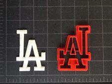 LA Dodgers Cookie Cutter / Fondant Cutter / Cupcake Topper